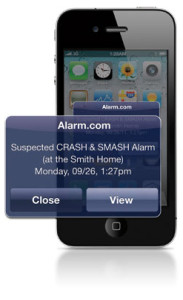 Crash N Smash technology from Alarm.com