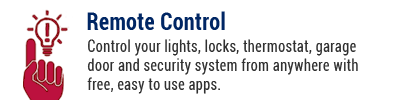 Control your lights, locks, thermostat, garage door and security system with security solutions from Alarm Engineering powered by Alarm.com