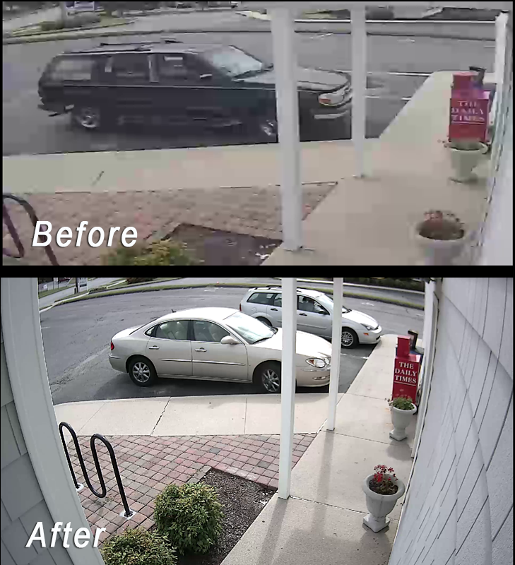 """WOW! thanks Alarm Engineering, Inc. and Ron Boltz for our new hi-def cameras. This technology dramatically improves resolution and uses our old coax cable, minimizing labor and equipment costs. Winning!"""""""