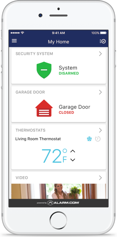 Smarter Home Security from Alarm Engineering powered by alarm.com